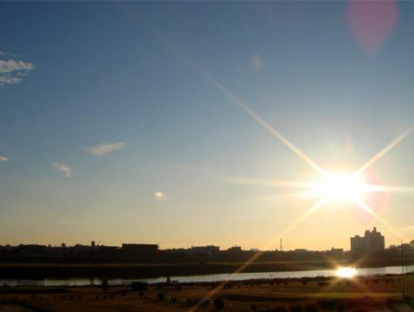 2009/1/1初日の出